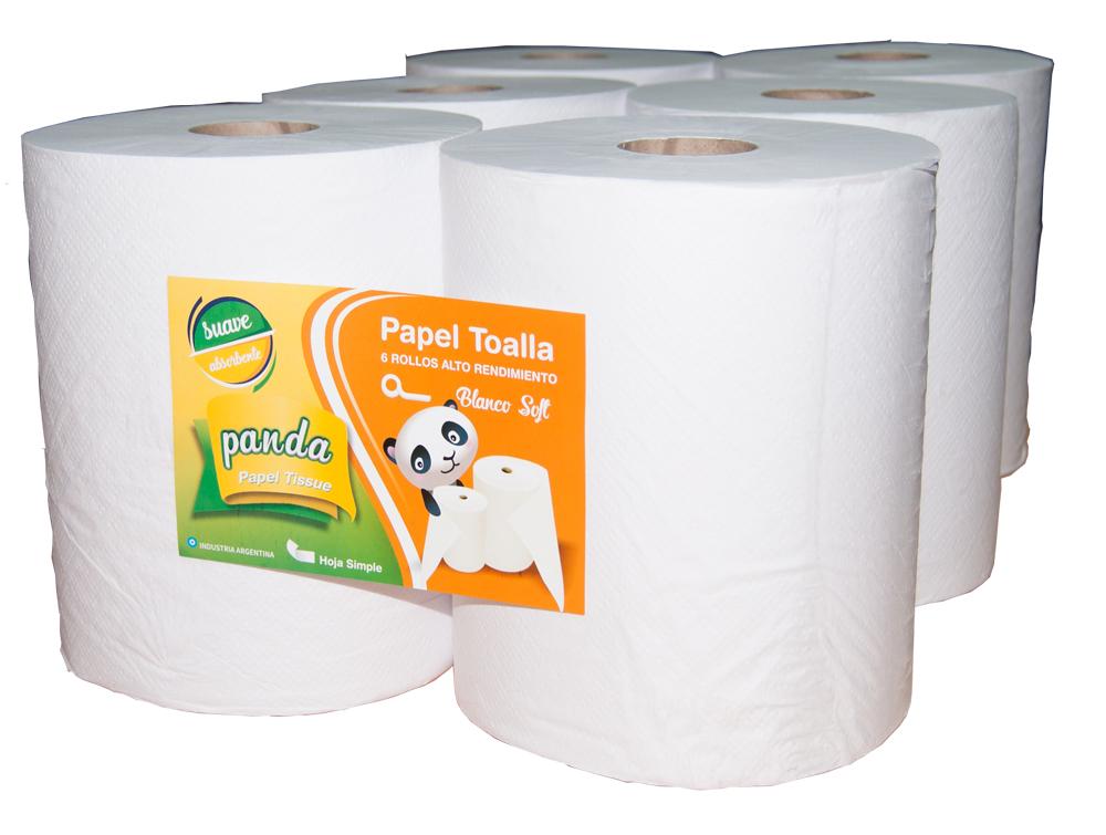 Toallas de papel PANDA